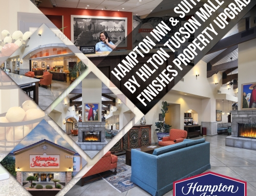 Hampton Inn & Suites by Hilton Tucson Mall Finishes Property Upgrade
