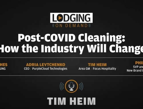 How the hotel industry's approach to cleanliness will change post-COVID-19